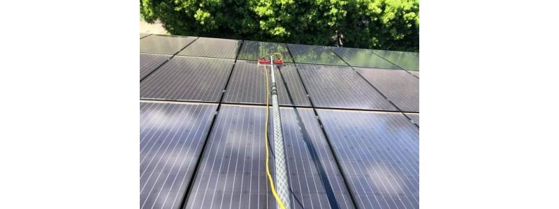 Pamiętajmy aby dbać o panele słoneczne